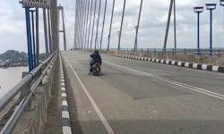 Ditutup 45 Hari, Jembatan Mahkota II Dibuka Lagi Kamis Besok