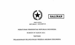 Lewat PP 59/2021, Pemerintah Perkuat Aspek Pelindungan dan Jamsos Pekerja Migran