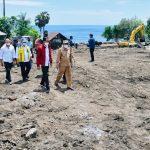 Tinjau Penanganan Bencana di Lembata, Presiden Pastikan Kebutuhan Pengungsi Tercukupi