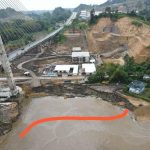 Satu Tiang Jembatan Mahkota II Samarinda Kritis