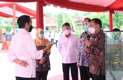 Presiden Jokowi Resmikan Instalasi PSEL Pertama Indonesia
