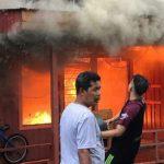 Lebaran di Samarinda, 4 Bangunan Terbakar di Gang 3 Jalan Lambung Mangkurat