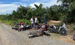 Gelar Sabung Ayam di Hari Idulfitri, Polres Nunukan Sita 25 Sepeda Motor dan Enam Ekor Ayam