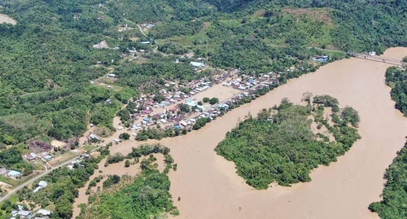 Banjir Landa Tiga Kecamatan di Kabupaten Malinau, Kalimantan Utara