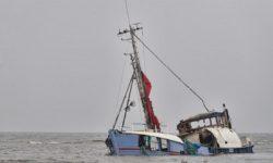 KM Bandar Nelayan 188 Mengalami Kecelakaan di Samudera Hindia