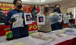 Polisi Ringkus Dua Tersangka Kasus Pencurian dan Pemerkosaan ABG