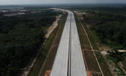 Presiden Jokowi Tinjau Pembangunan Jalan Tol Pekanbaru – Bangkinang