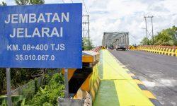 Jembatan Jelarai Sudah Dibuka Kembali