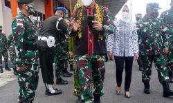 Bupati Sambut Pangkostrad Kunker di Kabupaten Nunukan