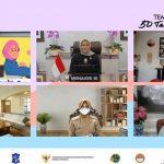 Bupati Laura Tampil Bersama Menaker di Webinar TEMPO