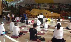 Mahavihara Buddhamanggala Langsungkan Ibadah Secara Daring dan Tatap Muka