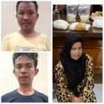 Polisi Nunukan Tangkap Kakak, Adik dan Ipar Terlibat Jaringan Sabu 8,5 Kilogram