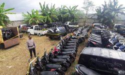 Polisi Gagalkan Pengiriman 15 Kontainer Isi Kendaraan Bodong ke Timor Leste