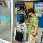 ATM Bankaltimtara di Samarinda Nyaris Digasak Rampok