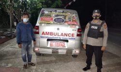 Ambulan Bawa Jenazah Pasien Covid-19 Tujuan Berau Terpaksa Kembali ke Samarinda