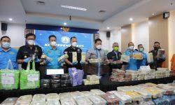 BNN Bongkar Tiga Sindikat Narkoba Internasional, Sita Lebih 580 Kg Sabu