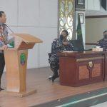 Sekda Nunukan Hadiri Sosialisasi, Ajak Putra Putri Nunukan jadi Prajurit TNI AL