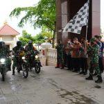 Libatkan Korem 091/ASN, 462 Paket Sembako Didistribusikan ke Warga Kurang Mampu