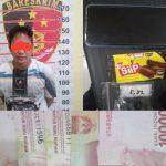 Diupah jadi Kurir Sabu Rp500 ribu, Bambang Lebaran di Penjara Polsek Sungai Kunjang