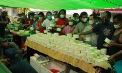 3.000 Porsi Makanan, Berbagi Kebahagiaan Rutan Samarinda Bersama Warga Binaan