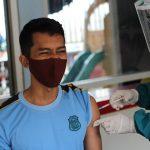 Lengkap, 72 Petugas Rutan Samarinda Divaksin Covid-19 Dosis Kedua