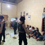 Polisi Gerebek 20 Pejudi Sabung Ayam Lewat Siaran Televisi di Nunukan