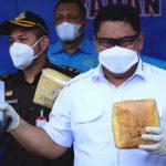 Kasus Maret-April 2021, BNN Musnahkan Lebih Setengah Ton Barang Bukti Narkotika