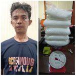 Sembunyikan Sabu dalam Kandang Ayam, Polisi Tangkap Irfandi