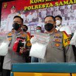 Sabu Senilai Lebih Rp13 Miliar Gagal Edar di Samarinda, Polisi Sempat Nyamar jadi Ojol