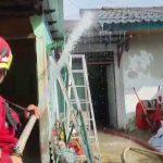 Rumah di Loa Bakung Terbakar, Diduga Akibat Korsleting Listrik
