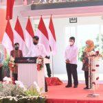 Presiden Jokowi Resmikan Instalasi Pengolahan Sampah Jadi Energi Listrik Benowo