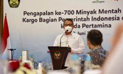 Menteri ESDM Saksikan Pengapalan Lifting ke-700 Minyak Mentah Blok Cepu