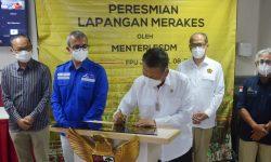 Menteri ESDM Resmikan Pengembangan Lapangan Merakes Kalimantan Timur