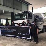 PT Bintang Kutai Motor Gelar Roadshow MB AXOR CEMENT MIXERTYPE 2528 RMC