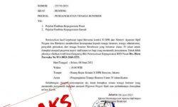 Waspadai Beredarnya Surat Palsu Pengangkatan Honorer