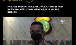 Korban 100 Orang, Nilai Kerugian Investasi Bodong Lucky Star Rp15,6 Miliar