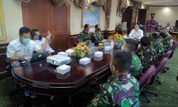 Bertemu Tim Pusjianstra TNI, Serfianus Sampaikan Kondisi Infrastruktur di Perbatasan