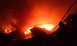 Kebakaran di Gunung Bugis, Sekitar 80 Rumah jadi Abu