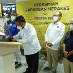 Menteri ESDM Resmikan Operasional Proyek Merakes Senilai US$1,3 Miliar