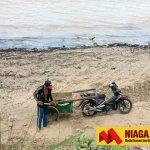 Penambangan di Bibir Pantai Dilarang, Harga Pasir di Sebatik Naik Rp1,9 Juta/Truk