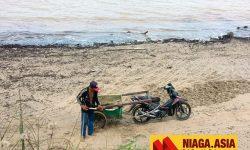Polisi Bakal Tindak Penambang Liar Pasir Laut Sebatik