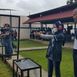 Peringati HUT Lanal, Bupati Nunukan dan Forkopimda Hadiri Latihan Menembak
