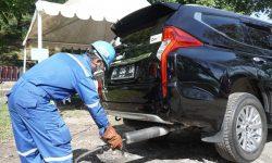 Pastikan Kadar Gas Buang Aman, Pertamina Uji Emisi Kendaraan Operasional