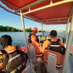 Tersisa Sandal, ABK Tugboat Diduga Hilang di Sungai Sebuku Nunukan