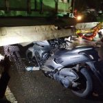 Hantam Truk Kontainer di Jalan Tengkawang, Pegawai PDAM Samarinda Meninggal