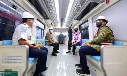 Ditarget Beroperasi Tahun 2022, Presiden: Progres Pembangunan LRT Jabodebek Capai 84,7 Persen