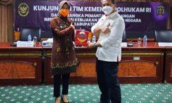 Bertemu Tim Kemenko Polhukam, Laura Sampaikan Persoalan Penting di Perbatasan Nunukan
