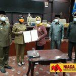 DPRD Nunukan Setuju Raperda Pertanggungjawaban APBD Tahun 2020 jadi Perda