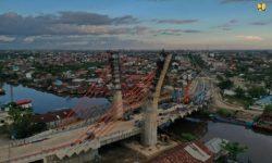 Jembatan Sei Alalak Banjarmasin Akan Rampung September 2021