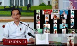 Hari Anak Nasional 202, Presiden : Tetap Semangat Belajar Meski Tidak di Sekolah